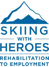 Skiing With Heroes logo